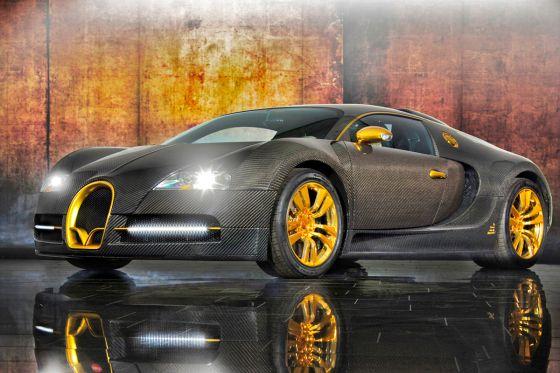 bugatti veyron 16 4 linea vincer d 39 oro von mansory. Black Bedroom Furniture Sets. Home Design Ideas