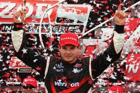 Will Power führt nach vier Saisonsiegen die IndyCar-Meisterschaft an
