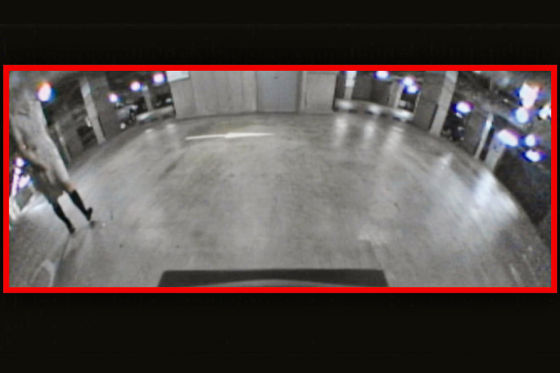 Infiniti FX mit Moving Object Detection