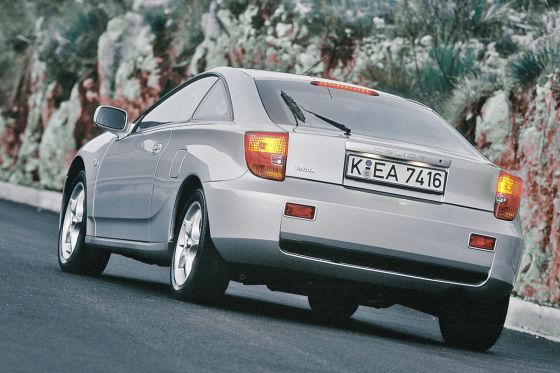 Abschied nach 23 Jahren: Der kantige Celica T23 verschwand 2005 ersatzlos vom deutschen Markt.