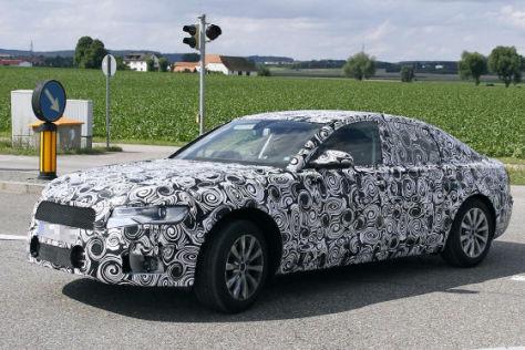 Erlkönig Audi A6 (C7)