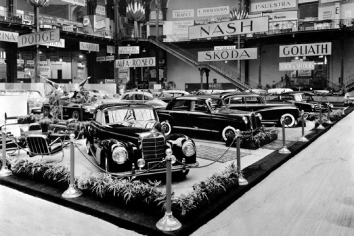 Autosalon Paris 1953 Mercedes-Benz