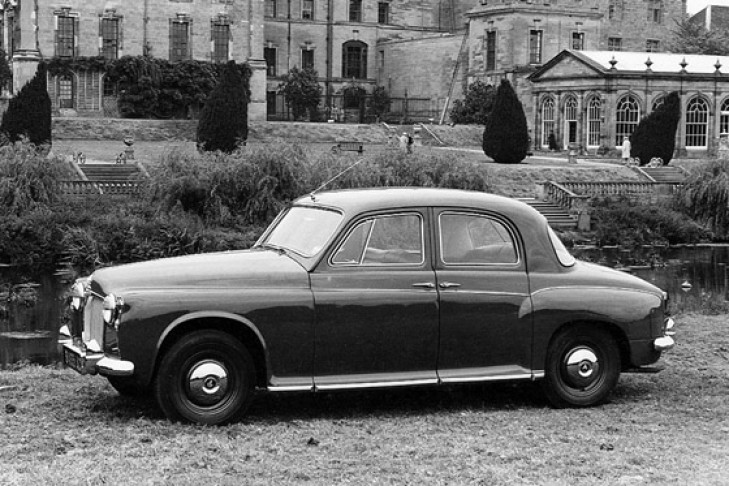 Rover P4