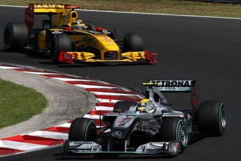 Gerüchten zufolge will Mercedes die Saison nur noch vor Renault beenden