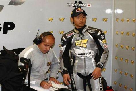 Hiroshi Aoyama testet sich und seine RC212V am kommenden Montag in Brünn