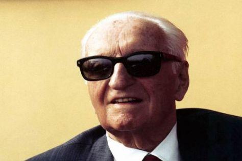 """Enzo Ferrari: Der """"Commendatore"""" war für seine Hartnäckigkeit berühmt"""