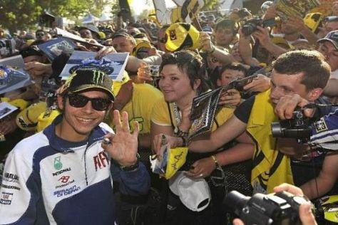 Valentino Rossi freut sich, dass die Fans von seinem Wechsel so begeistert sind