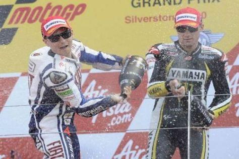 Jorge Lorenzo und Ben Spies sollen 2011 das Yamaha-Werksteam bilden