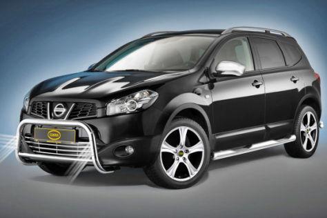 Nissan Qashqai mit Frontschutzbügel Bullfänger von Cobra N+ Accessoires