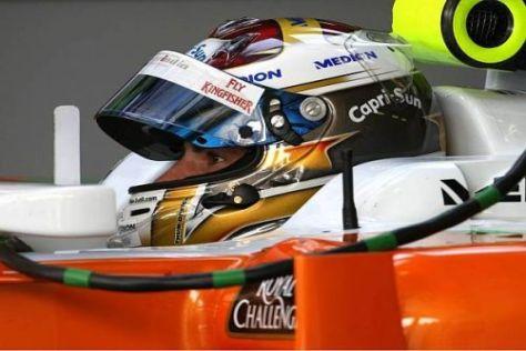 Adrian Sutil weiß, dass er bei Force India nicht Weltmeister werden kann