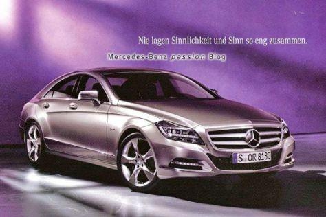 Mercedes CLS (2011): Erste Bilder
