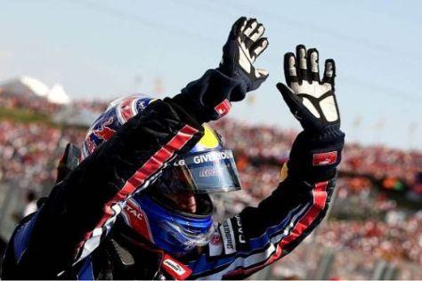 Mark Webber führt mit den meisten Saisonsiegen die Fahrer-WM-Wertung an