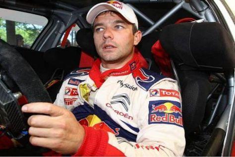 Sébastien Loeb gibt wie erwartet in den Weinbergen das Tempo vor