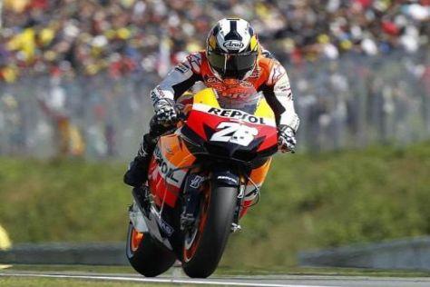 Dani Pedrosa wird aller Voraussicht nach auch 2011 für Honda starten