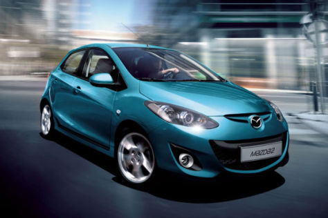 Mazda2 Facekift (2011)