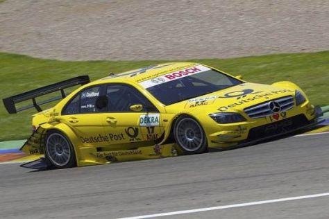 Ab geht die Post: David Coulthard würde gerne auch 2011 in der DTM antreten