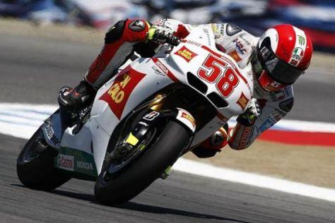 Simoncelli gewann im Vorjahr den 250er-Lauf, diesmal will er in die Top-6