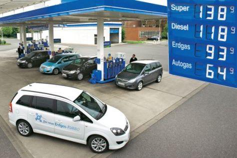 Opel Zafira 1.8, Opel Zafira 1.7 CDTI, Opel Zafira 1.8 LPG, Opel Zafira 1.6 CNG Turbo