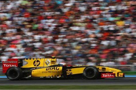 Das Renault-Team will seinen Fans beim Rennen in Spa eine gute Leistung bieten