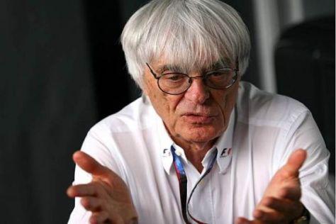 Bernie Ecclestone glaubt weiter an die Fähigkeiten von Michael Schumacher