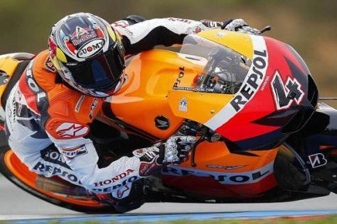 Andrea Dovizioso möchte auch 2011 für das Honda-Werksteam an den Start gehen