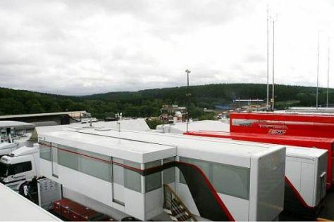 Parken die Formel-1-Trucks 2010 zum letzten Mal in Spa-Francorchamps?