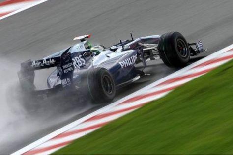 Barrichello kann sich mit dem wechselhaften Wetter anfreunden