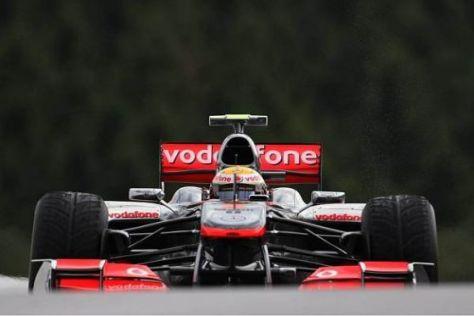 Lewis Hamilton fühlte sich in den Bedingungen sichtbar wohl