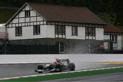 Michael Schumacher in seinem