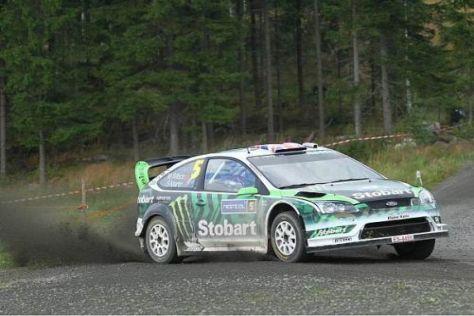 Noch bewegt Matthew Wilson einen Ford Focus, 2011 könnte es ein Fiesta sein