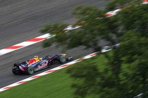 Mark Webber fuhr wieder einmal nicht nur schnell, sondern auch fehlerfrei