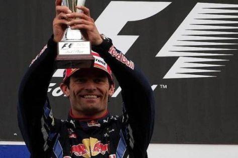 Für die Fahrer-WM ist Mark Webbers heutiger zweiter Platz Gold wert
