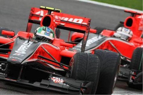 Lucas di Grassi fuhr vor Timo Glock über die Ziellinie
