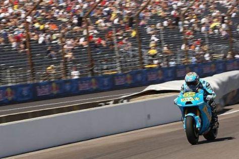 Loris Capirossi konnte seinen Fans in Indy 2010 kein Top-10-Ergebnis schenken