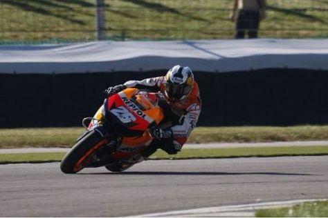 Dani Pedrosa nimmt Kurs auf weitere gute Ergebnisse für das Honda-Werksteam