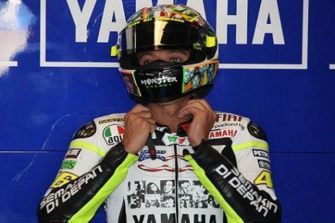 Valentino Rossi ist nach seiner langen Zwangspause noch nicht wieder voll da