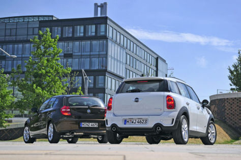 Mini Countryman BMW 1er
