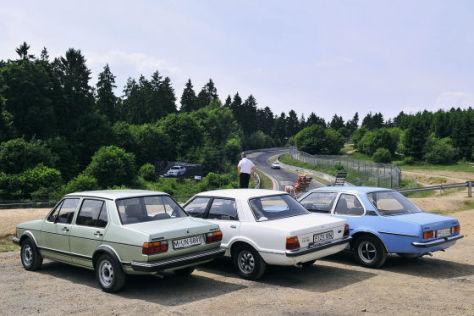 Ford Taunus Opel Ascona VW Jetta