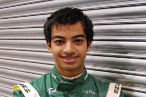 16 Jahre jung, aber schon Formel-1-Fahrer: Nabil Jeffri aus Malaysia