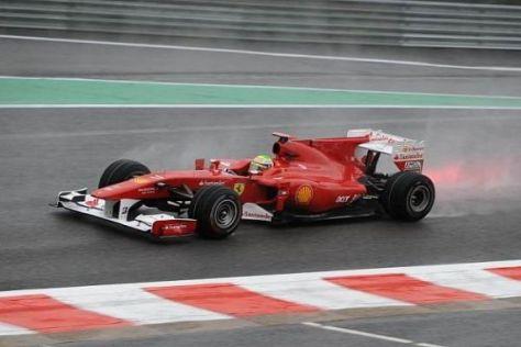 Felipe Massa trotze in Belgien dem Wetter und verpasste das Podium knapp