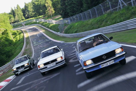 VW Jetta I Opel Ascona B Ford Taunus II