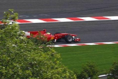 Felipe Massa darf seinen vierten Platz vom vergangenen Wochenende behalten
