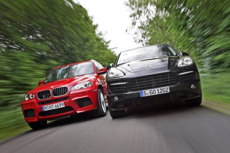 BMW X5 M Porsche Cayenne Turbo