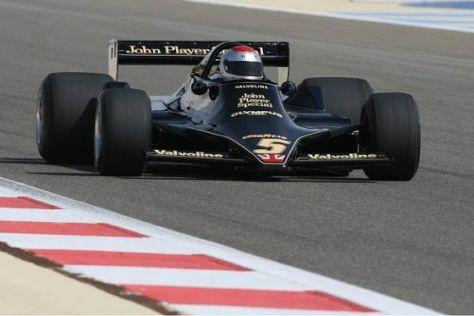 Die Ground-Effect-Cars (Foto: Lotus 79 von Mario Andretti) könnten zurückkehren