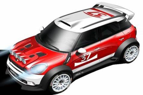 Der MINI Countryman WRC wird kommende Woche zum ersten Mal getestet
