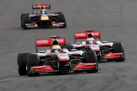 Guter Topspeed: McLaren-Mercedes gilt in Monza als klar favorisiert
