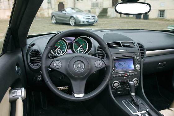 Mercedes SL vs. Mercedes SLK