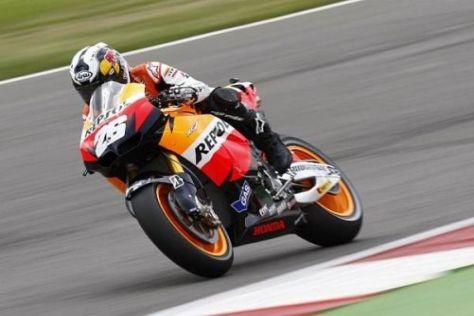Honda-Pilot Dani Pedrosa war im Training in Misano in einer eigenen Liga