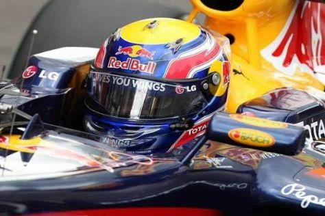 Red-Bull-Pilot Mark Webber gilt als einer der großen Titelfavoriten 2010