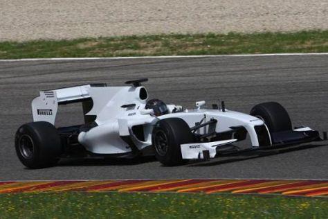 Nick Heidfeld absolvierte mit den Pirelli-Reifen bereits intensive Testfahrten